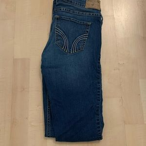 Hollister Blue Skinny Jeans Dark Wash